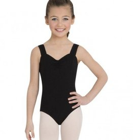Pinch-Front Tank Leotard
