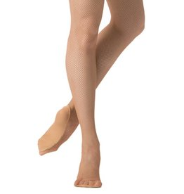 Danskin Danskin Padded Foot Fishnet Tight
