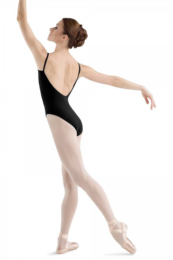 Freed/Chacott L5407- Sissone High Leg Low Back Dance Leotard