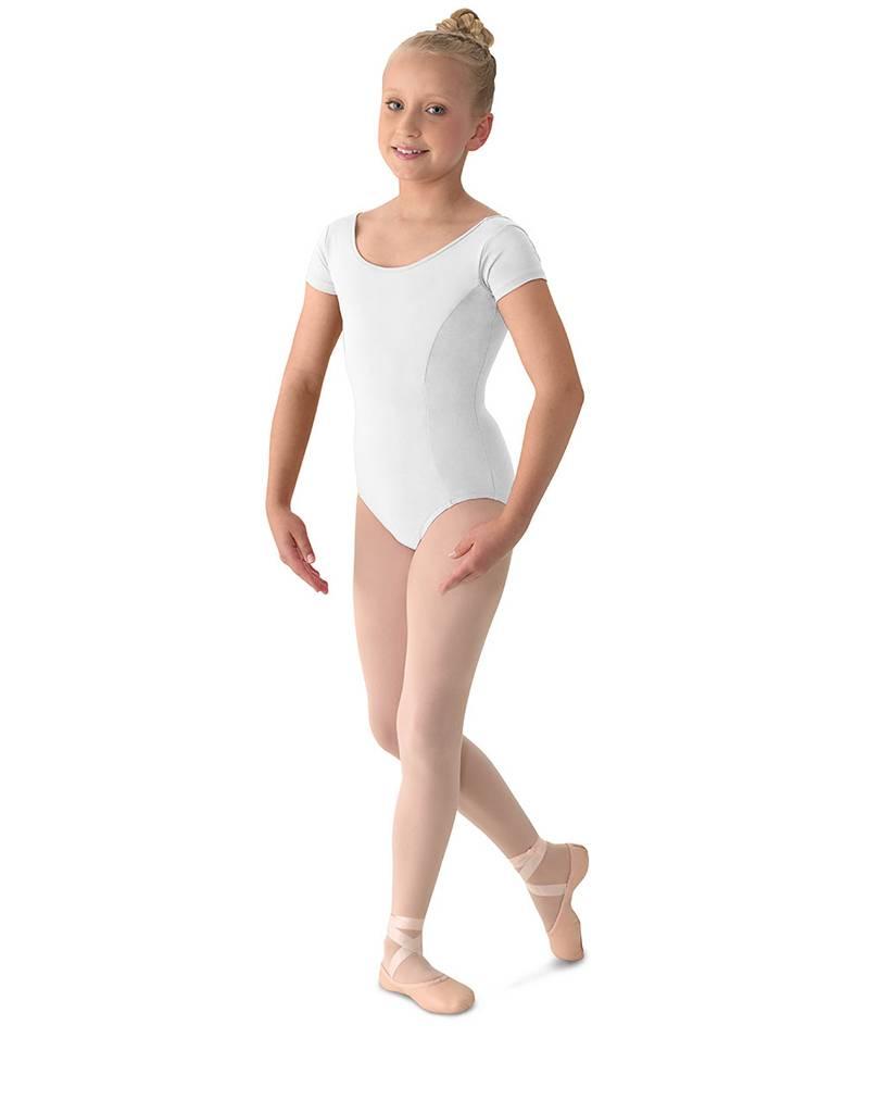 Mirella M515C- Aspire! Classwear Girl's Cap Sleeve Leotard