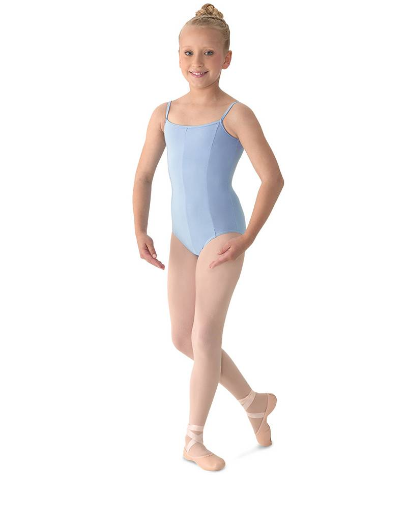 M207C: Aspire! Classwear Girl's Seamed Camisole Leotard