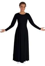 BM9122X- Basic Moves Long Sleeve Dress- Plus