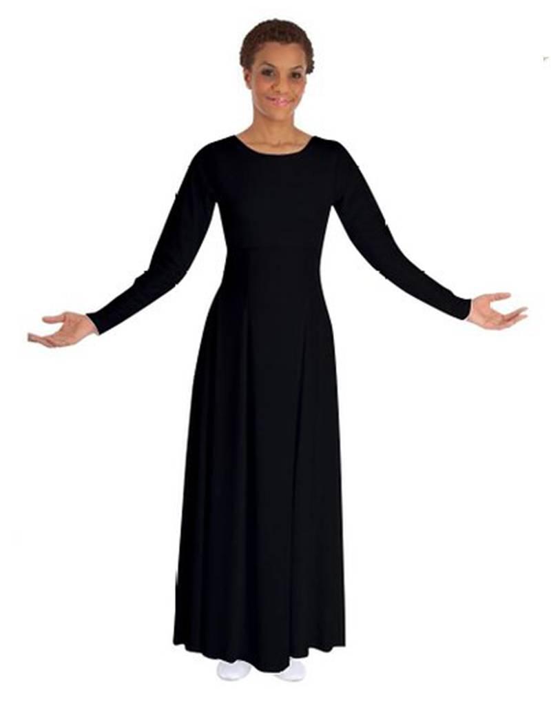Basic Moves BM9122X- Long Sleeve Dress- Plus