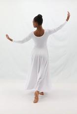 BM9122G- Basic Moves Long Sleeve Dress- Girls
