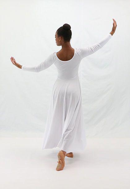 Basic Moves BM9122G- Long Sleeve Dress- Girls