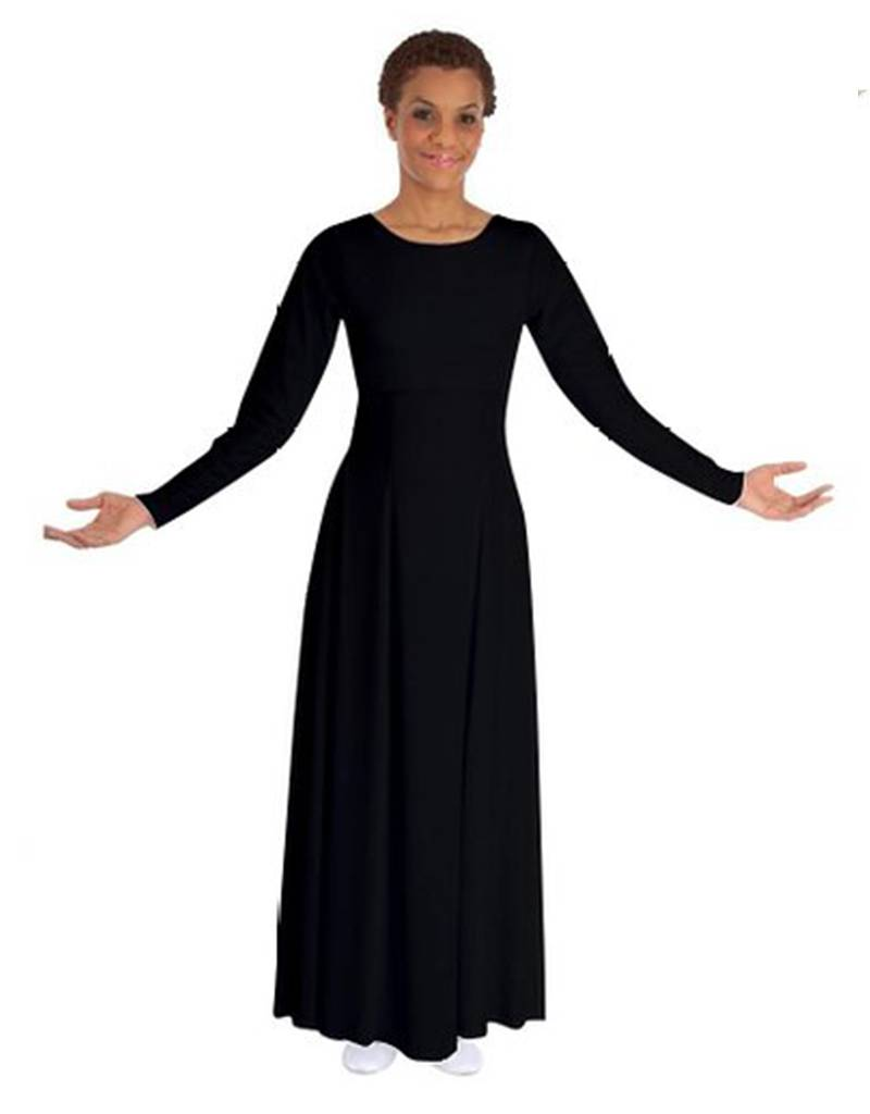 BM9122A- Basic Moves Long Sleeve Dress- Adult