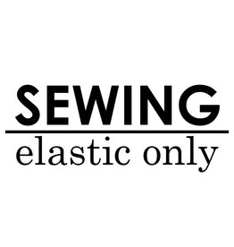 Sewing Elastic Only