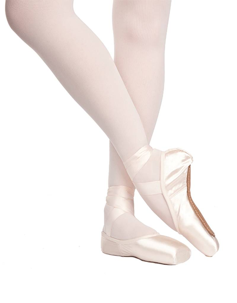 "Russian Pointe Size 37.5: Rubin ""Ruby"" U-Cut with Drawstring"