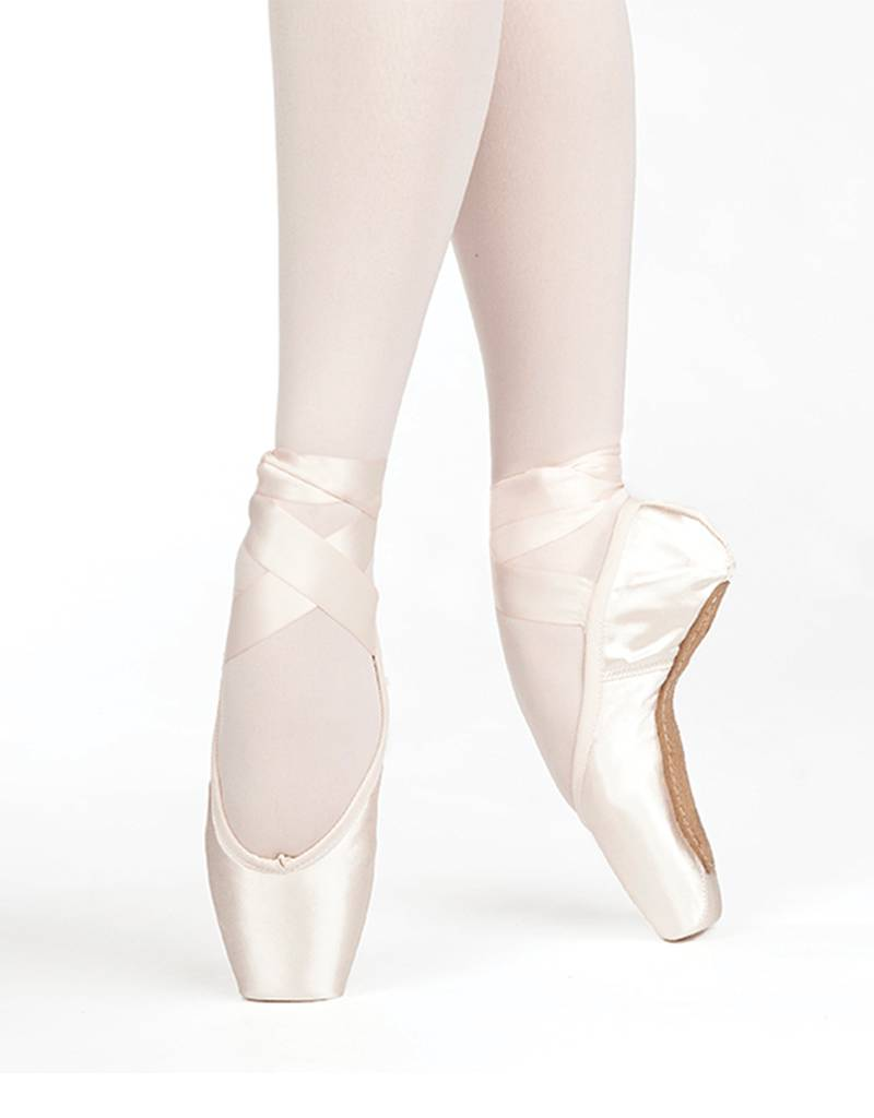 Russian Pointe Size 37.5: Almaz U-Cut with Drawstring