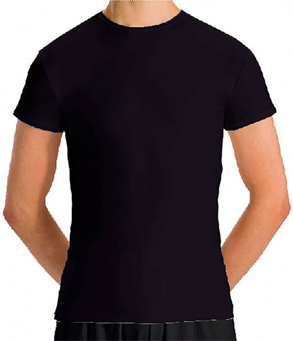 MotionWear Boys Fitted Cap Sleeve Tee - MW7207