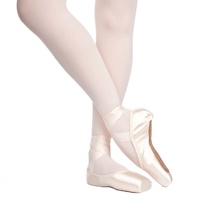 "Russian Pointe Size 37: Rubin ""Ruby"" U-Cut with Drawstring"