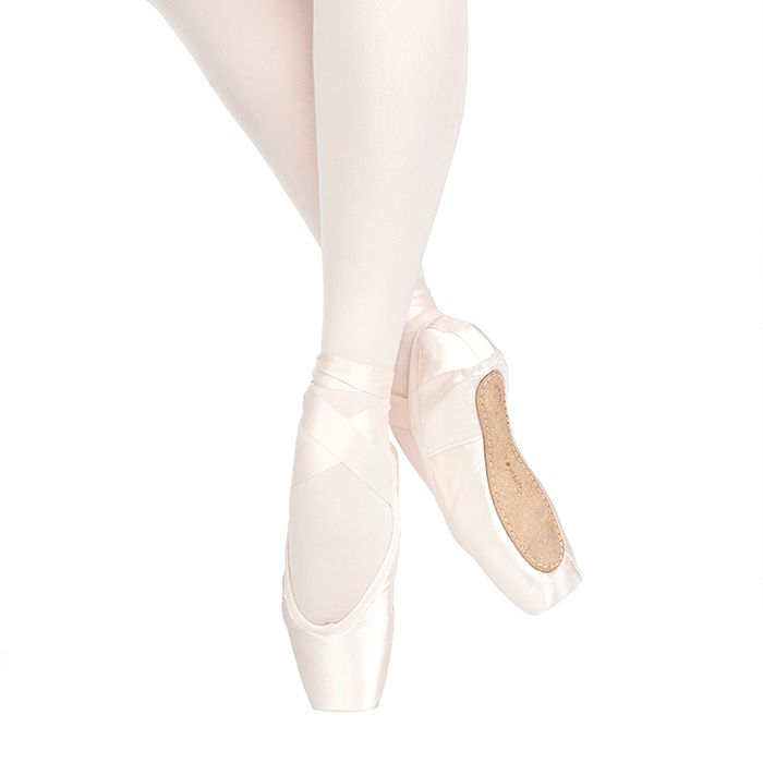 Russian Pointe Size 37.5: Sapfir U-Cut with Drawstring