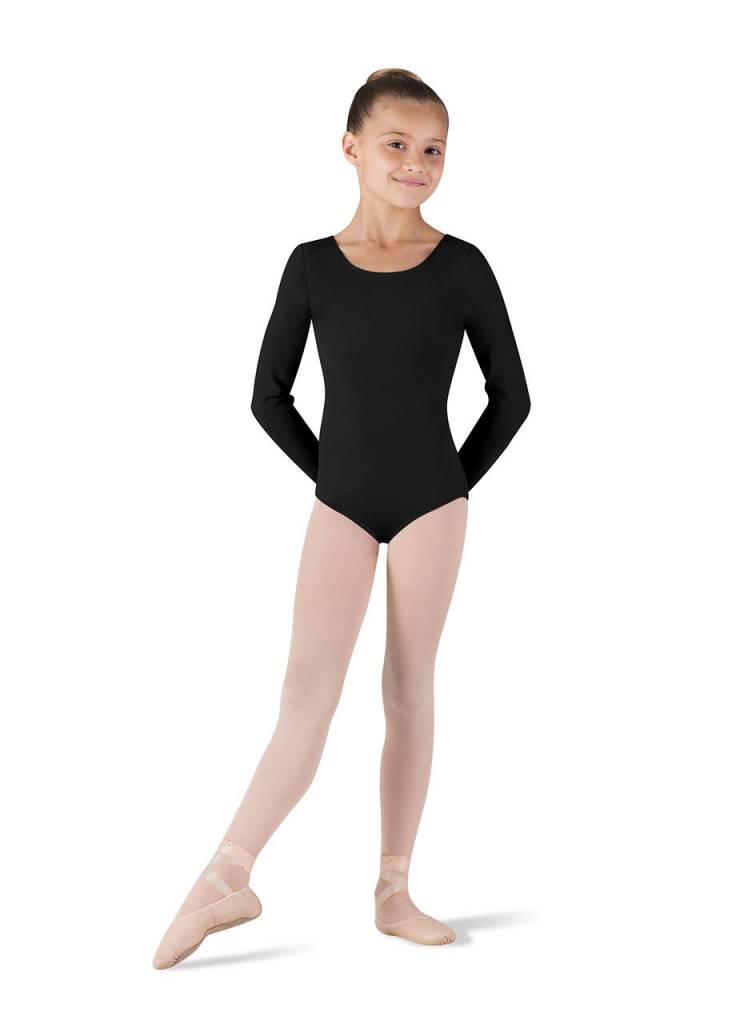CL5409: Bloch Girls' Basic Long Sleeve Leotard