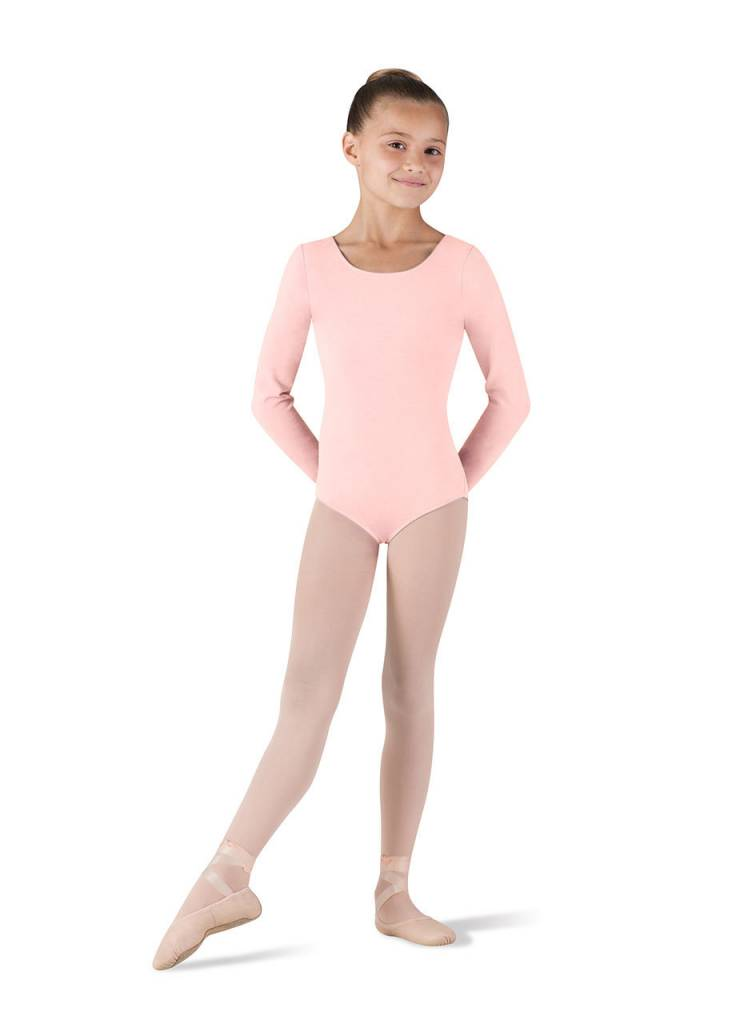 Bloch/Mirella CL5409: Bloch Girls' Basic Long Sleeve Leotard
