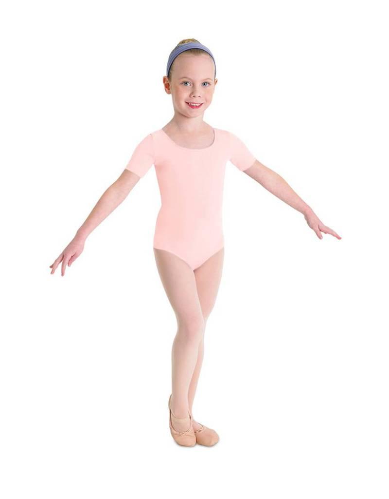 CL5402: Bloch Girls' Basic Short Sleeve Leotard