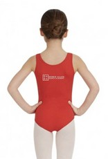 Capezio TB142C: Capezio' Girls Tank Leotard with DADA Logo on Hip and Back