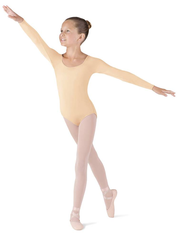 Bloch/Mirella CL5609: Bloch Girls' Meglio Long Sleeve Leotard