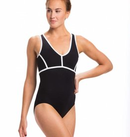 Ainslie Wear AinslieWear  ELLIE w/ Mesh & Contrast Piping
