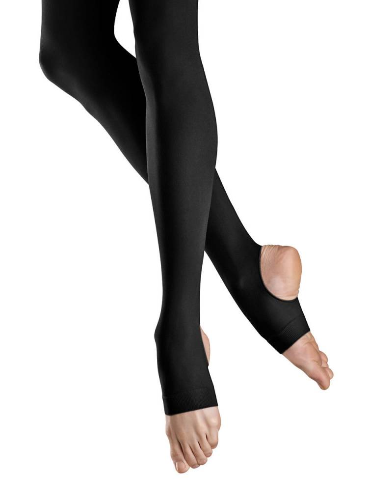 Bloch T0938G- Bloch Girls' Endura Stirrup Tight