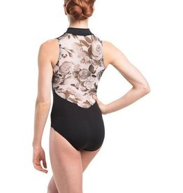 Ainslie Wear AW1062SF- Zip Front w/ Floral Print M