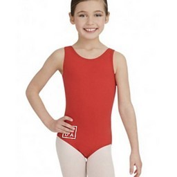 "TB142C: Capezio DADA ""Red Bird"" Leotard"