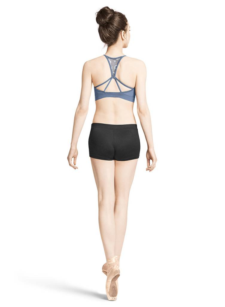 Bloch M2141LM- Floral Mesh Crop Top