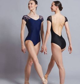Ballet Rosa JOSEPHINE-Cap Sl Leo w/lace