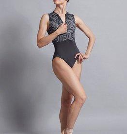 Ballet Rosa DALI-Swirl Zip Front Leo