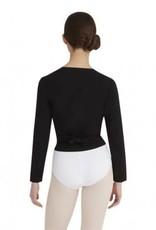 Capezio/Bunheads CC850-Cotton Wrap Sweater