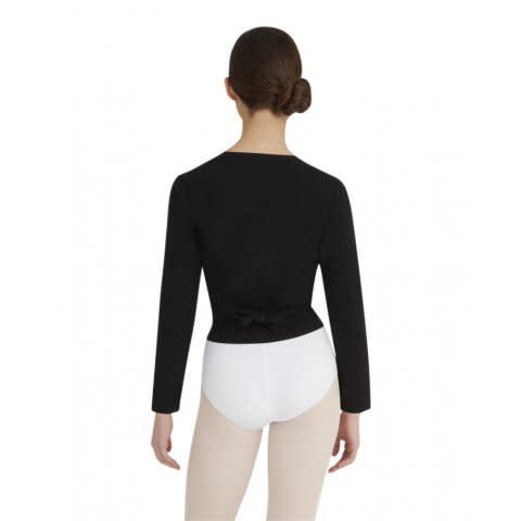 Capezio CC850-Cotton Wrap Sweater - The Dance Store