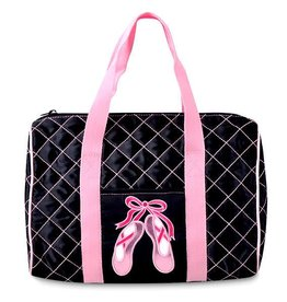 Danshuz B551- Quilted on Pointe-Blk
