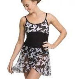 Ainsliewear AW501FF- Wrap Skirt Floating Flower-O/S