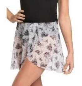 "Ainsliewear AW501BT- 15"" Wrap Skirt Botanical Print O/S"
