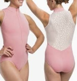 Ainsliewear AW1062DS-Zip Front/Daisy Lace/Coral - Med