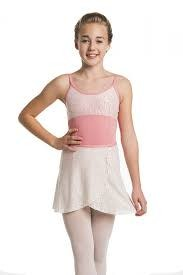 """Ainsliewear AW501DS- 13"""" Girls Wrap Skirt/Daisy Lace/Coral-O/S"""