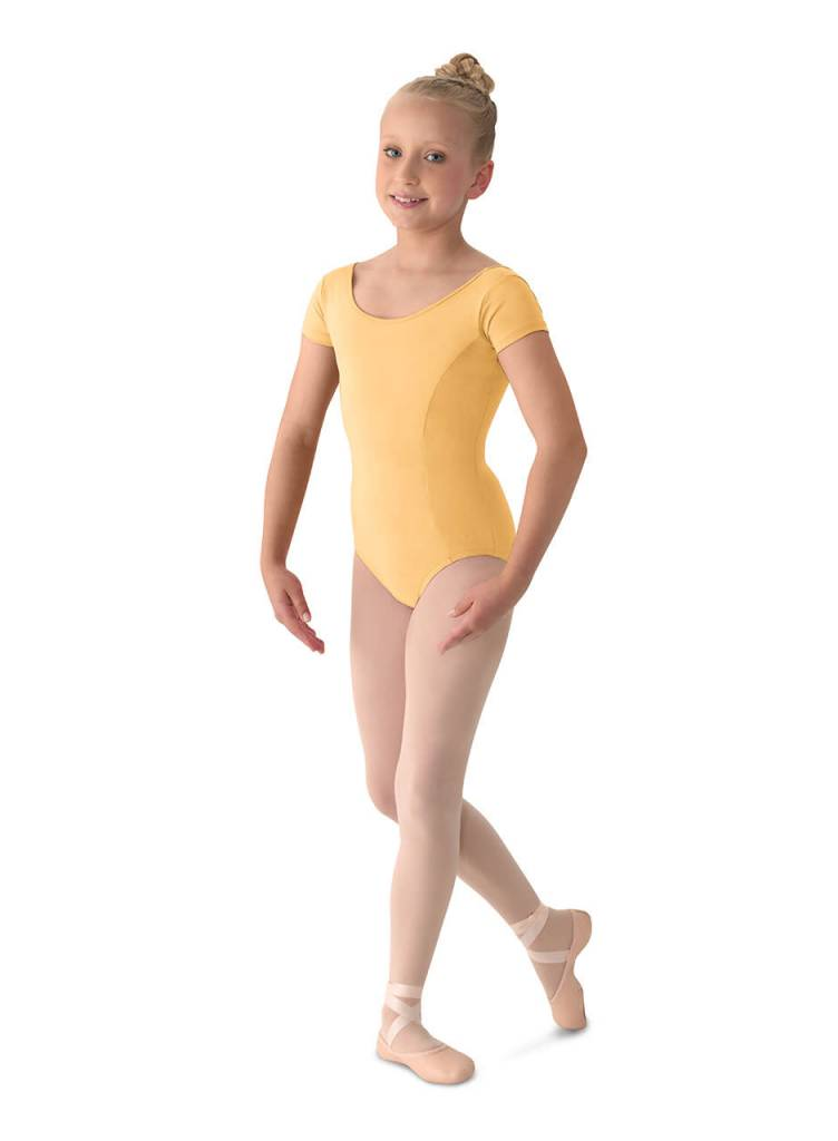 Bloch/Mirella Mirella M515C- Aspire! Classwear Girl's Cap Sleeve Leotard