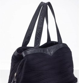 Wear Moi DIV66-Wave Bag - Blk/Prune