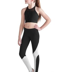 Bloch/Mirella FT5064C - Zip Front Crop Top