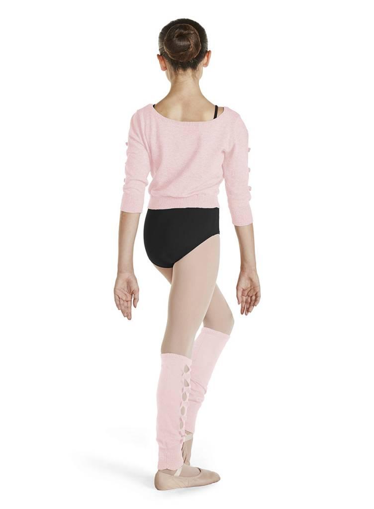 Bloch/Mirella CZ1126 - Bow Detail Crop Sweater