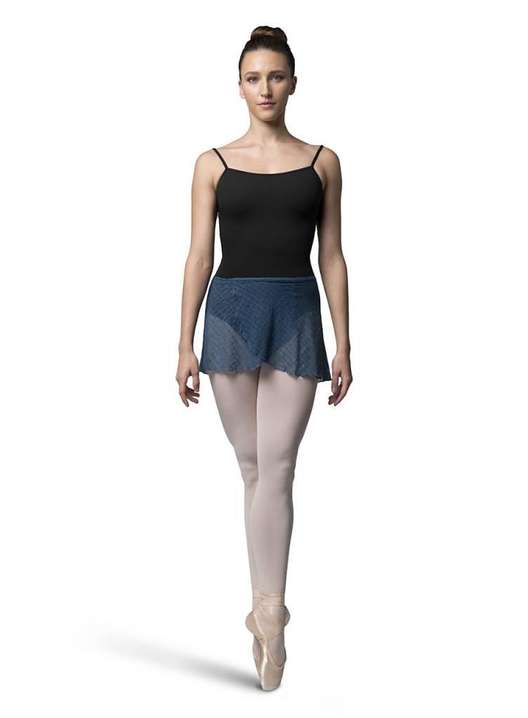 Bloch/Mirella R8711 - Check Mesh Skirt