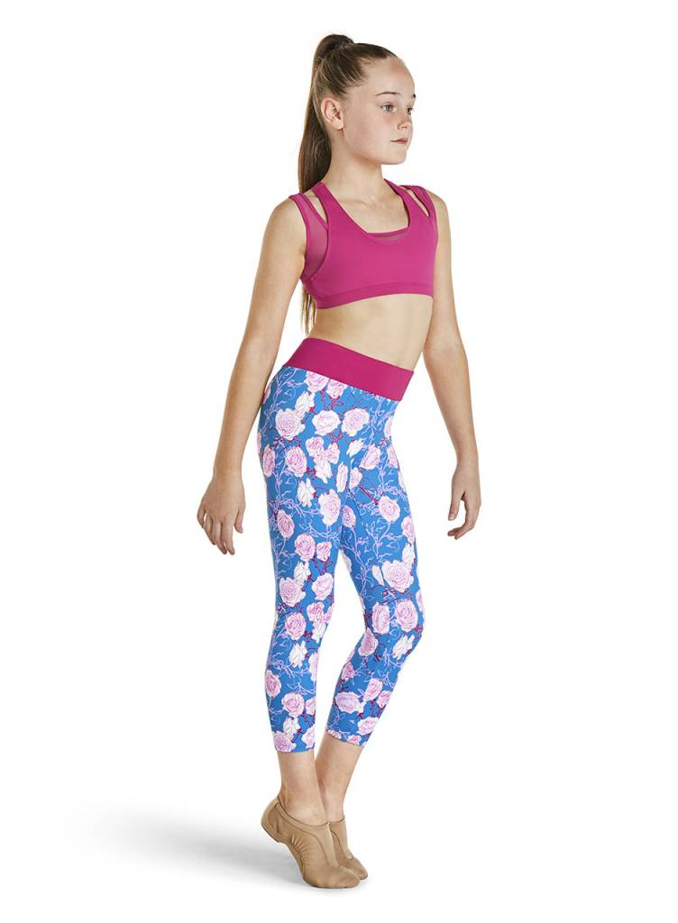Bloch/Mirella KA027P-Rosies 7/8 Legging