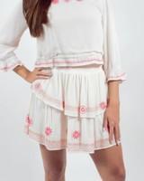 Wildflower Ruffle Skirt