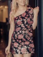 Luella Jacquard Mini Dress