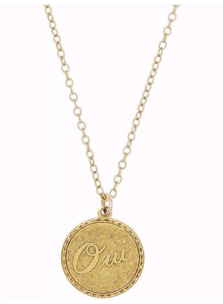 Oui Charm Necklace