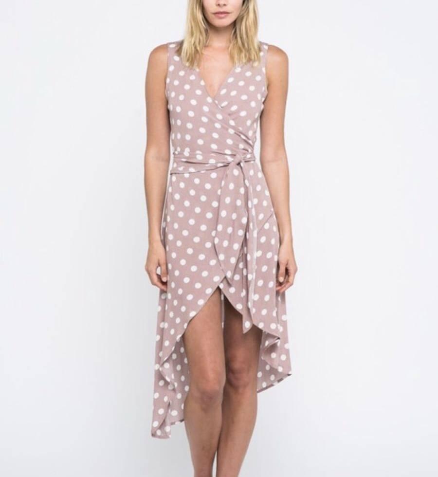 Sloane Polka Dot Dress - Etiquette Boutique