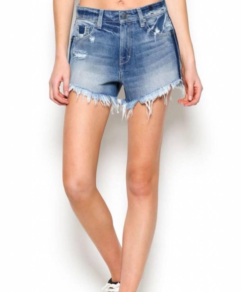 Sofie Mom Denim Shorts