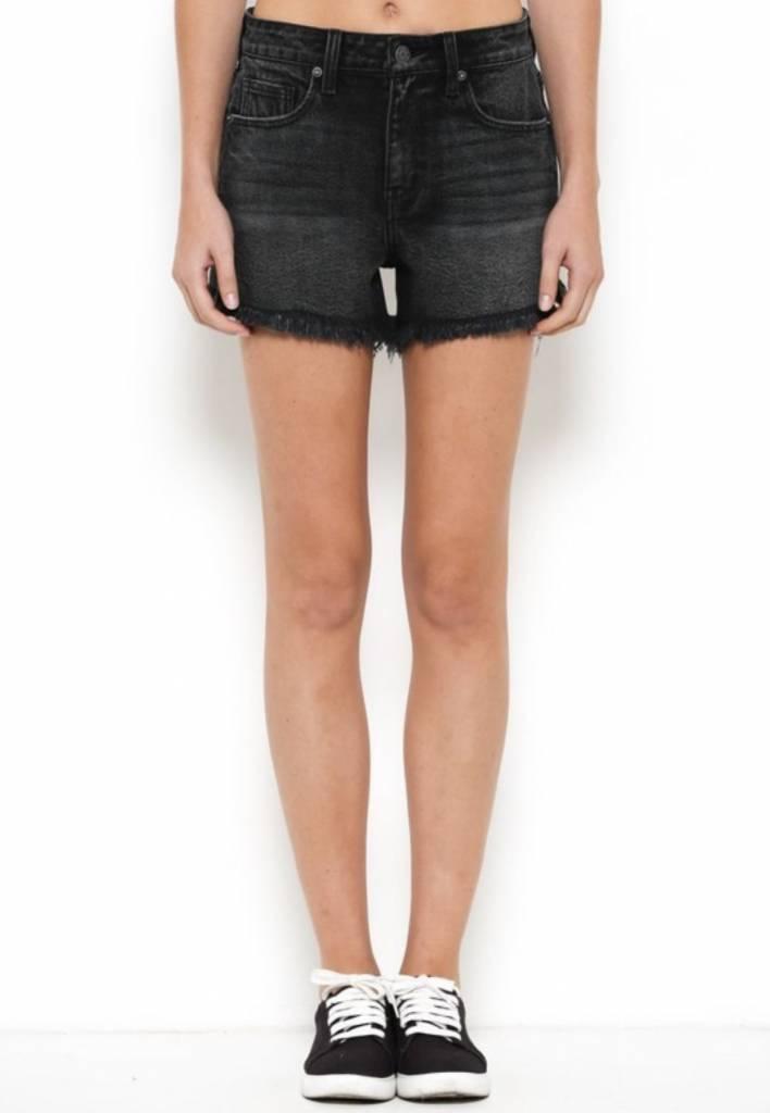 Shadow Hi-Rise Denim Shorts