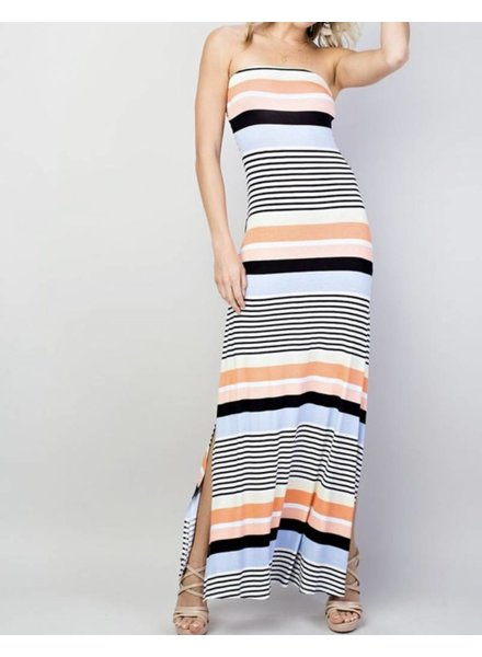 Summer Stripe Maxi