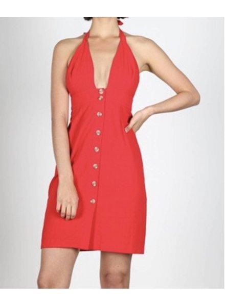 Berkeley Halter Dress