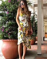 Limon Midi Dress